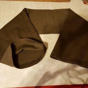 Military Neck Warmer Wool Tube Scarf Has Stretch